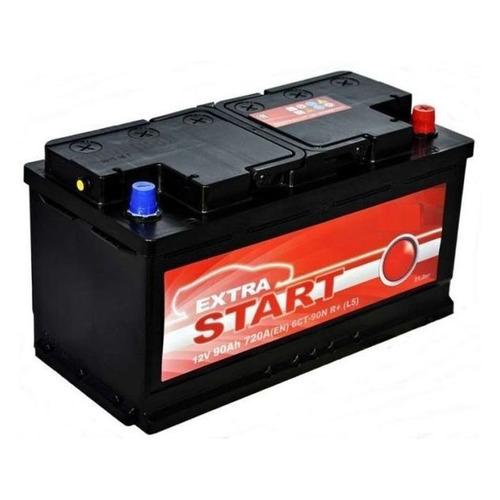 Аккумулятор автомобильный КАТОД EXTRA START Extra Start 90Ач 720A [6ст-90n r+ (l5)]
