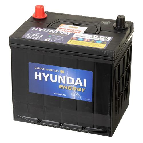 Аккумулятор автомобильный Hyundai CMF 65Ач 520A [75d23l]