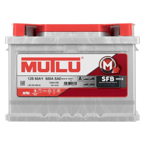 Аккумулятор автомобильный MUTLU SFB 3 60Ач 540A [lb2.60.054.a]