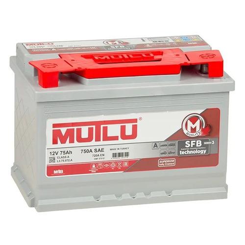 Аккумулятор автомобильный MUTLU SFB 3 75Ач 720A [l3.75.072.a]