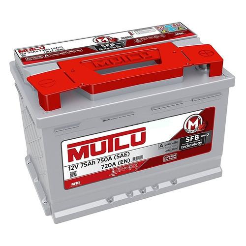 Аккумулятор автомобильный MUTLU SFB 3 75Ач 720A [lb3.75.072.a]