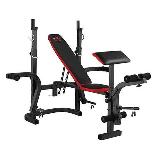 Скамья для силовых тренировок BODY SCULPTURE BW-3210АEH, черный/красный [bw-3210 аен] бенч скамья body sculpture lb0830 01 page 9