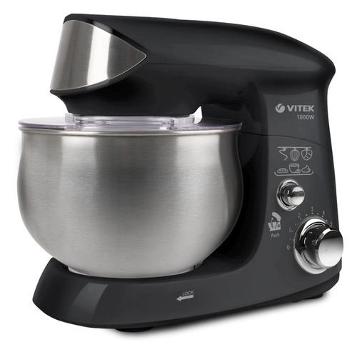 Кухонная машина VITEK 1445-VT, черный / серебристый [1445-vt-01]