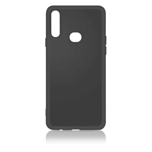 Чехол (клип-кейс) DF sOriginal-04, для Samsung Galaxy A10s, черный [df soriginal-04 (black)] чехол клип кейс df soriginal 16 для samsung galaxy m51 черный [df soriginal 16 black ]