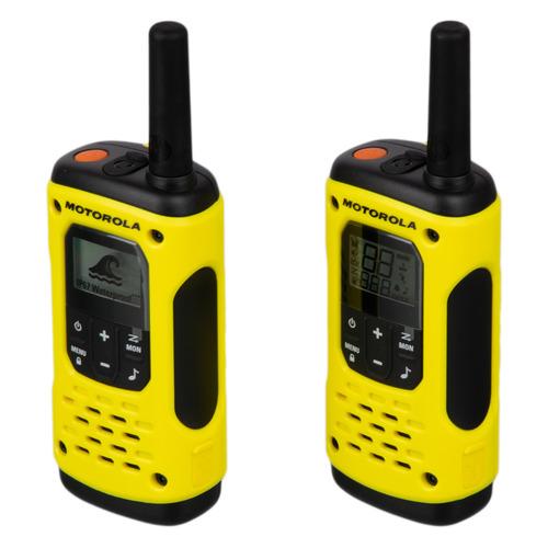 Комплект раций Motorola TLKR T92 H20 16кан. до 10км компл.:2шт AA желтый/черный (МТ168)
