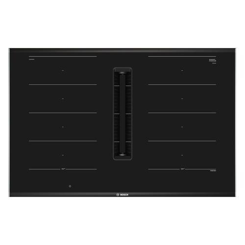Индукционная варочная панель BOSCH PXX875D67E, индукционная, независимая, черный варочная панель bosch pch6a6b90r независимая черный