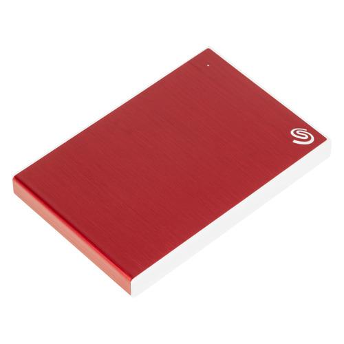 Фото - Внешний диск HDD SEAGATE One Touch STKB1000403, 1ТБ, красный внешний жесткий диск 2 5 1tb seagate stkb1000403 usb3 0 one touch красный