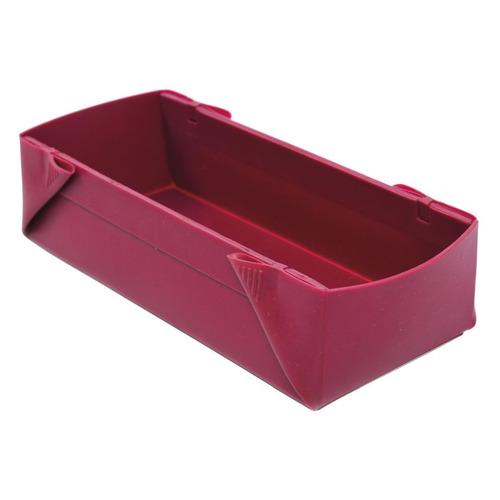 Фото - Форма для выпечки Bradex TK 0410 прямоуг. 25x9x6.5см силикон красный форма для котлет bradex tk 0227 красный