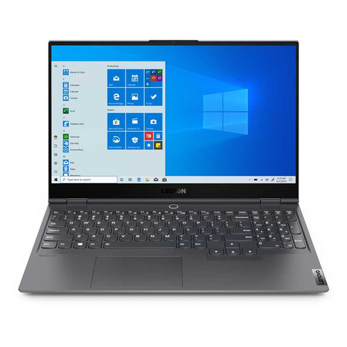 "Ноутбук LENOVO Legion S7 15IMH5, 15.6"", IPS, Intel Core i7 10875H 2.3ГГц, 32ГБ, 1ТБ SSD, NVIDIA GeForce RTX 2060 MAX Q - 6144 Мб, Windows 10, 82BC003ERU, серый"