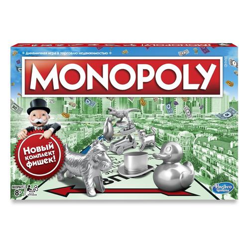 Настольная игра Monopoly Монополия Классика [c1009121]