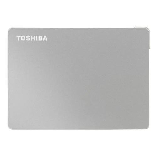 Фото - Внешний жесткий диск TOSHIBA Canvio Flex HDTX120ESCAA, 2ТБ, серебристый toshiba canvio advance usb 3 0 2тб hdtc920er3aa красный