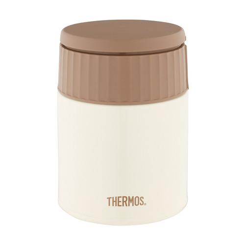 Термос THERMOS JBQ-400-MLK, 0.4л, белый/ коричневый термос thermos jbq 400 mlk 0 4l