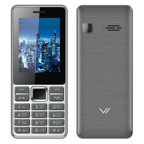 Мобильный телефон VERTEX D514 серый/черный