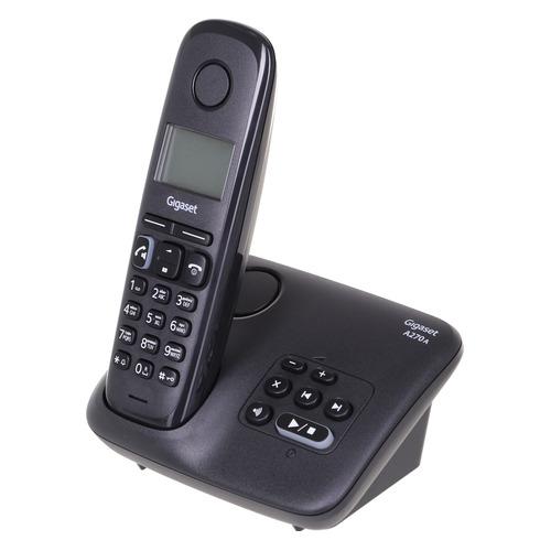 Радиотелефон GIGASET A270A AM RUS, черный [s30852-h2832-s301]