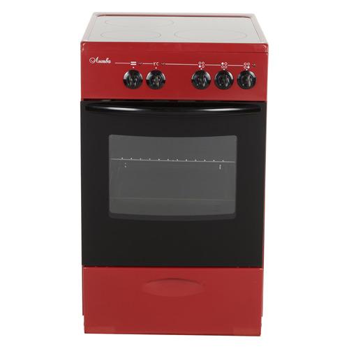 Фото - Электрическая плита ЛЫСЬВА EF3001MK00, стеклокерамика, без крышки, вишневый электрическая плита лысьва эпб 22 вишневый