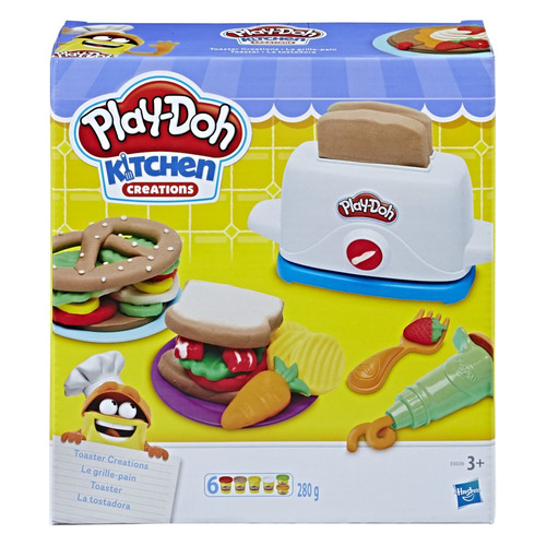 Фото - Набор для лепки Play-Doh Тостер (E0039EU6) тостер