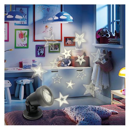 Проектор Neon-Night Home Звезды фор.:проектор 5лам. ПВХ/медь (601-268)