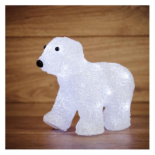 Фигура Neon-Night Home Медвежонок фор.:медвежонок 16лам. акрил (513-312) фигура neon night home олененок в шарфе фор олененок 24лам акрил 513 314