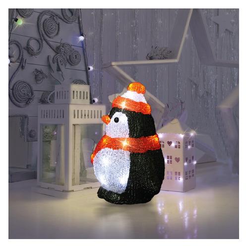 Фигура Neon-Night Home Пингвиненок фор.:пингвиненок 20лам. акрил (513-323) фигура neon night home олененок в шарфе фор олененок 24лам акрил 513 314