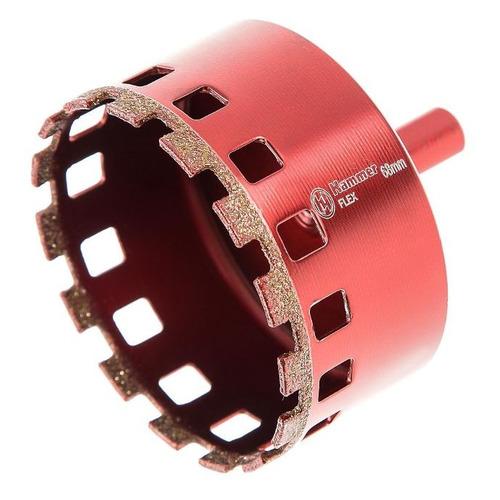 Коронка HAMMER Flex 226-016, кафель/керамогранит, 1шт [58979] коронка hammer flex 226 002 кафель керамогранит 1шт [58965]