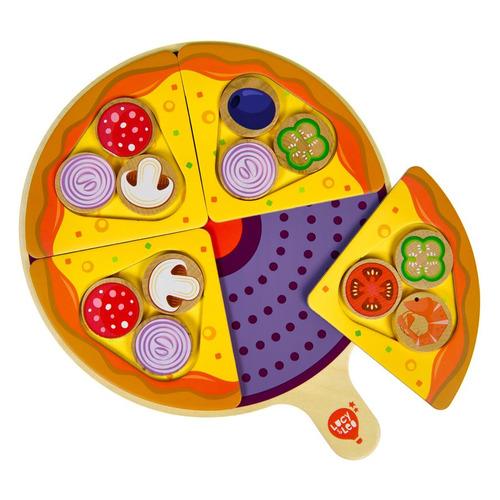 Фото - Развивающая игрушка LUCY&LEO Пицца! Пицца! [ll297] пицца винил