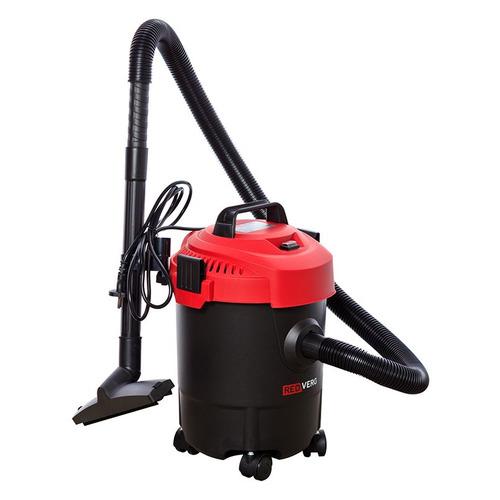 Строительный пылесос REDVERG RD-VC6263-12, черный воздуходувка пылесос redverg rd b18v от аккум зеленый черный