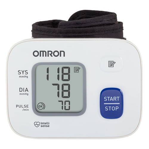 Тонометр автоматический OMRON RS2 (HEM-6121-RU), (без адаптера питания), 13,5-21,5см
