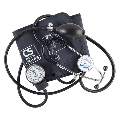 Тонометр механический CS MEDICA CS-105, (без адаптера питания), 22-38см