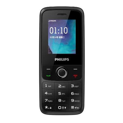 Фото - Сотовый телефон PHILIPS Xenium E117, темно-серый телефон philips xenium e117