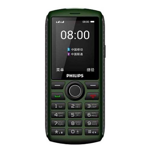 Фото - Мобильный телефон PHILIPS Xenium E218, зеленый сотовый телефон philips e218 xenium dark grey