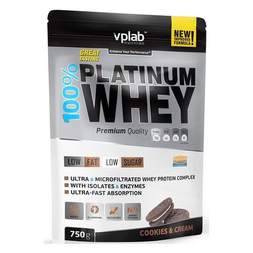 Фото - Протеин VPLAB Platinum Whey, порошок, 750гр, печенье-крем [vp53967] протеин