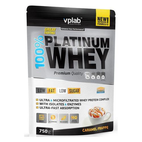 Фото - Протеин VPLAB Platinum Whey, порошок, 750гр, карамельный фраппе [vp54452] протеин