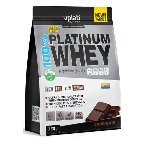Фото - Протеин VPLAB 100% Platinum Whey, порошок, 750гр, шоколад [vp53929] протеин