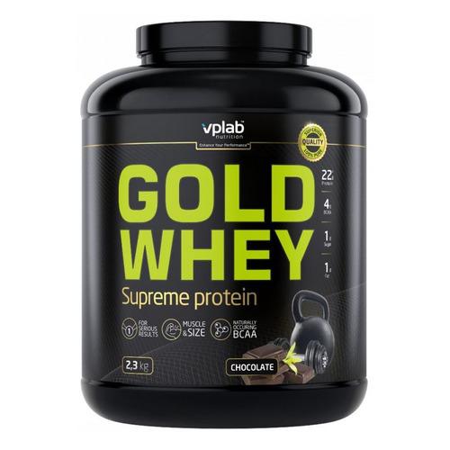 Протеин VPLAB Gold Whey, порошок, 2.3кг, шоколад [vp58641]