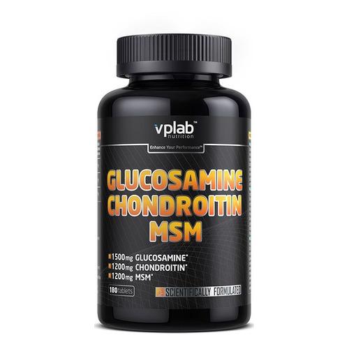 Глюкозамин Хондроитин VPLAB Glucosamine & Chondroitin & MSM, таблетки, 180шт [vp56692]