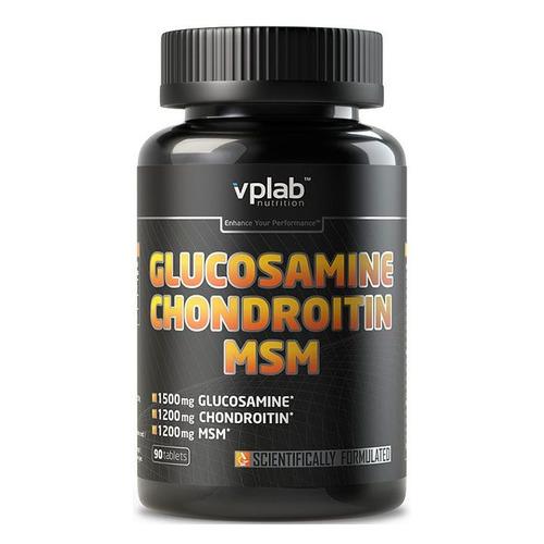 Глюкозамин Хондроитин VPLAB MSM, таблетки, 90шт [vp54490]