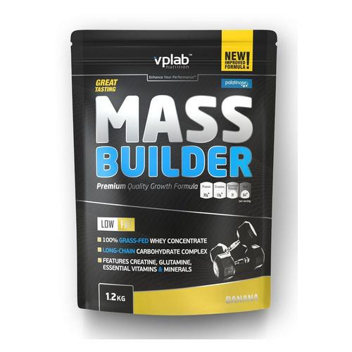 Гейнер VPLAB Mass Builder, порошок, 1.2кг, банан [vp55046]