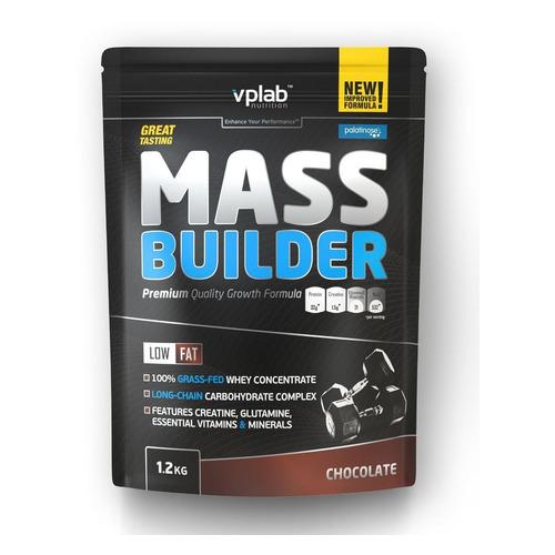 Гейнер VPLAB Mass Builder, порошок, 1.2кг, шоколад [vp54520]