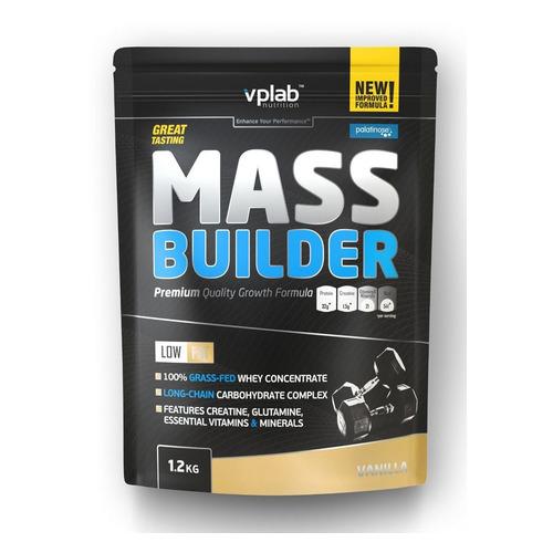 Гейнер VPLAB Mass Builder, порошок, 1.2кг, ваниль [vp55107]