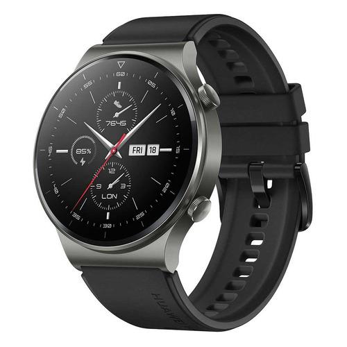 Смарт-часы Huawei Watch GT 2 Pro Vidar-B19S, 1.39, черный / черный [55025736] смарт часы huawei watch gt 2 pro vidar b19s 1 39 серебристый черный [55025736]