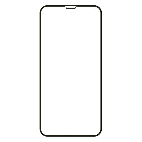 Защитное стекло для экрана VLP для Apple iPhone 12/12 Pro 71 х 146 мм, прозрачная, 1 шт, черный [vlp-25dgl20-61bk]