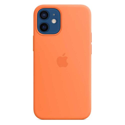 Чехлы для смартфонов, Чехол (клип-кейс) APPLE Silicone Case with MagSafe, для Apple iPhone 12 mini, кумкват [mhkn3ze/a]  - купить со скидкой