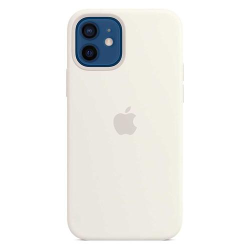 Фото - Чехол (клип-кейс) APPLE Silicone Case with MagSafe, для Apple iPhone 12/12 Pro, белый [mhl53ze/a] чехол apple silicone case with magsafe для iphone 12 12 pro белый