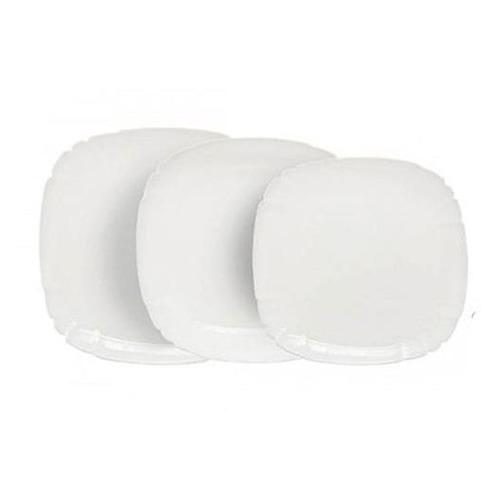 Фото - Сервиз столовый LUMINARC Lotusia., 18 предметов, белый [h3527] сервиз столовый luminarc harena 19 предметов 6 персон