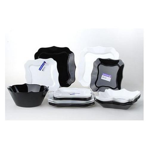 тарелка это твой день белая 13 5 х 12 5 см 5066416 Сервиз столовый LUMINARC Authentic E6195, 19 предметов