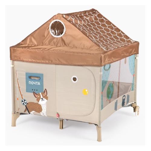 манеж кровать chicco next2me air макс 9кг бежевый от 0 мес до 6 мес 05079620340000 Манеж Happy Baby ALEX HOME с лампой макс.:14кг/сетка бежевый (от 6 мес)