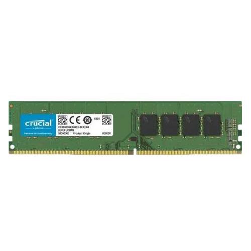 Модуль памяти CRUCIAL Basics CB4GU2666 DDR4 - 4ГБ 2666, DIMM, Ret