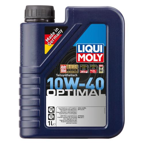 Моторное масло LIQUI MOLY Optimal 10W-40 1л. полусинтетическое [3929]