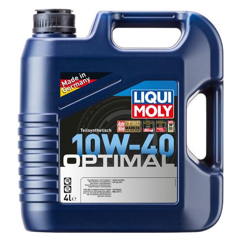 Моторное масло LIQUI MOLY Optimal 10W-40 4л. полусинтетическое [3930]