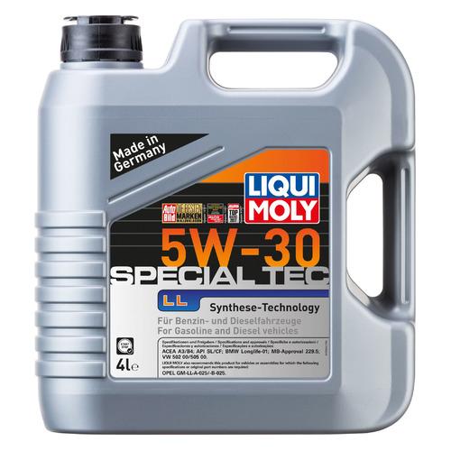Моторное масло LIQUI MOLY Special Tec LL 5W-30 4л. синтетическое [7654]